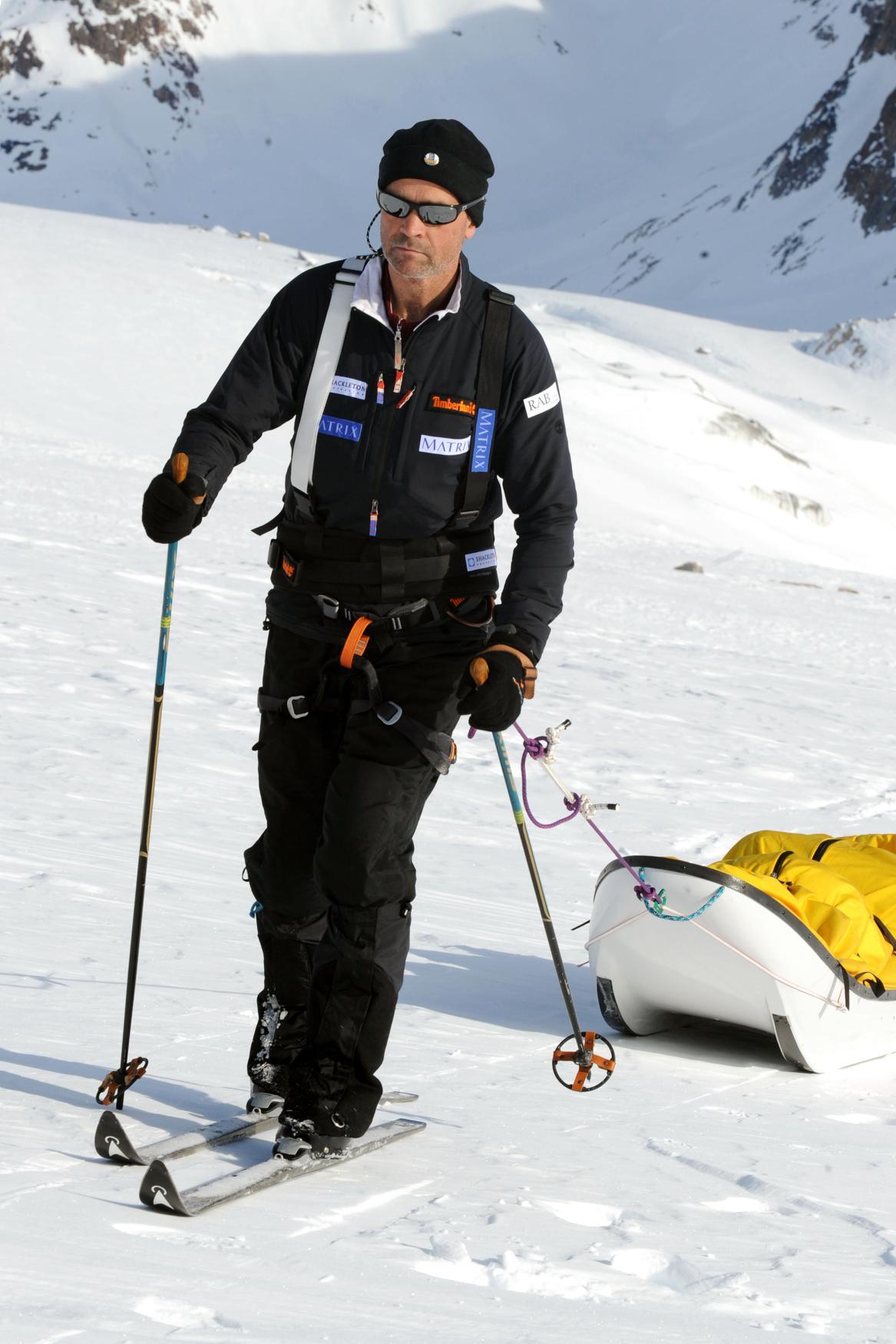 Henry Worsley na antarktické výpravě