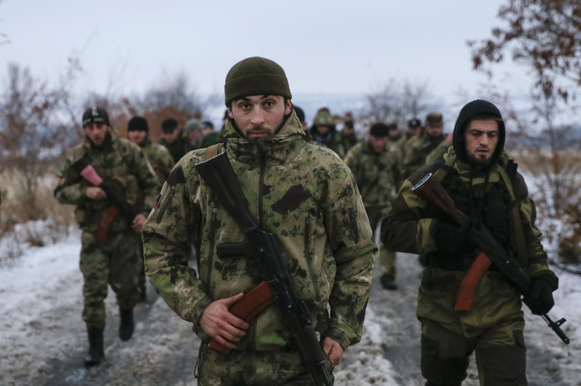 Proruští separatisté na Ukrajině