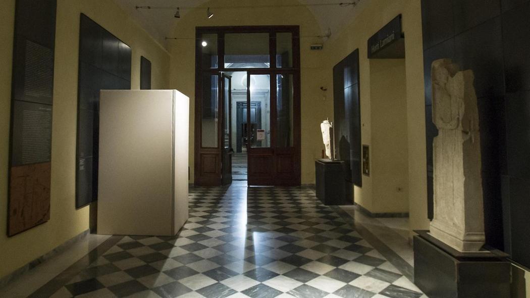 Speciální úprava muzea na římském Kapitolu