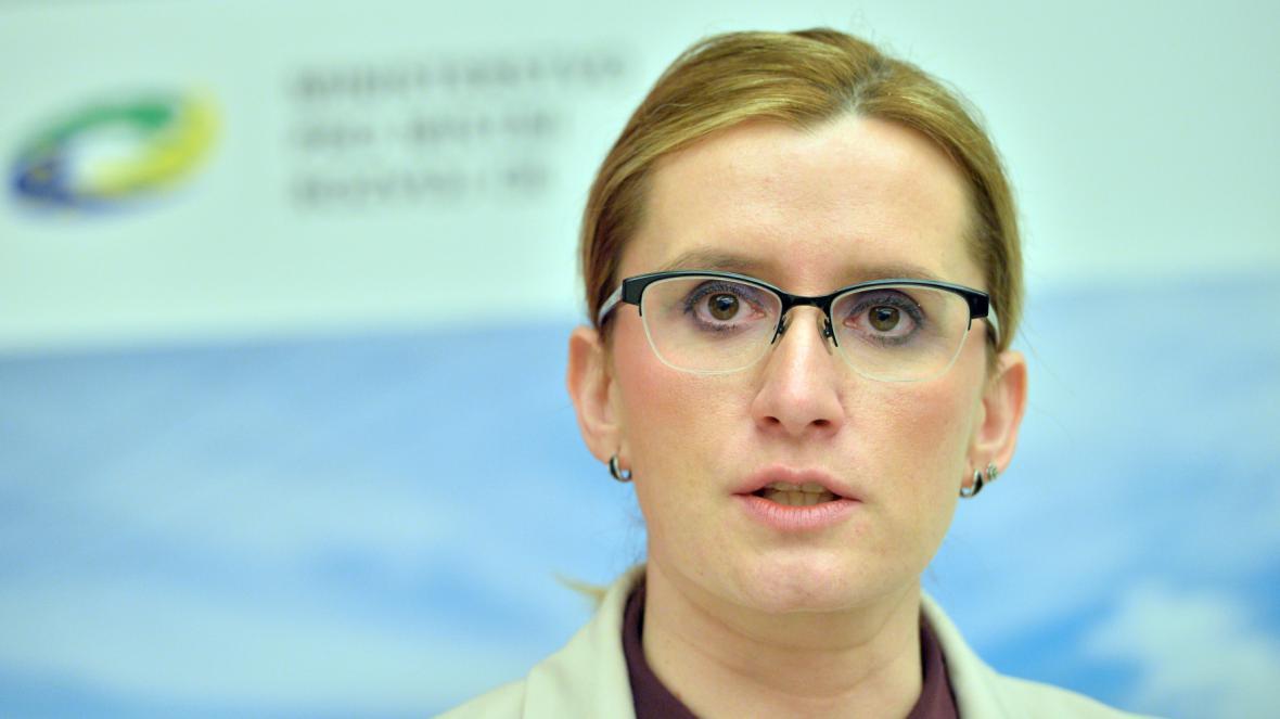 Ministryně pro místní rozvoj Karla Šlechtová (ANO)