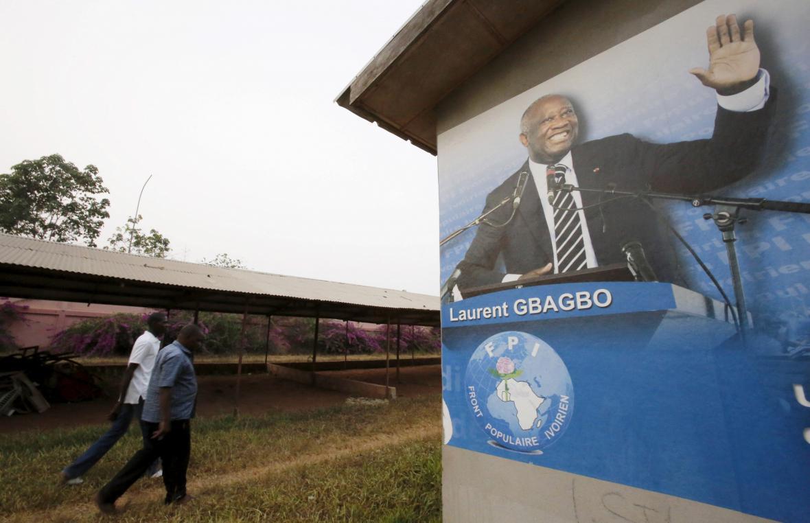 Pozůstatek někdejší slávy Laurenta Gbagba
