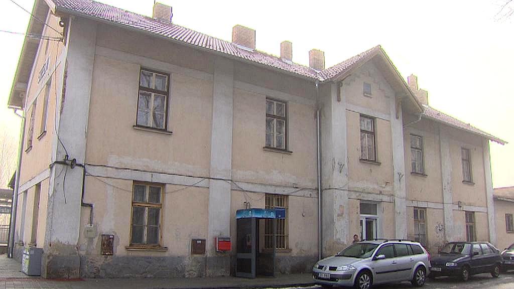 Nádraží v Soběslavi