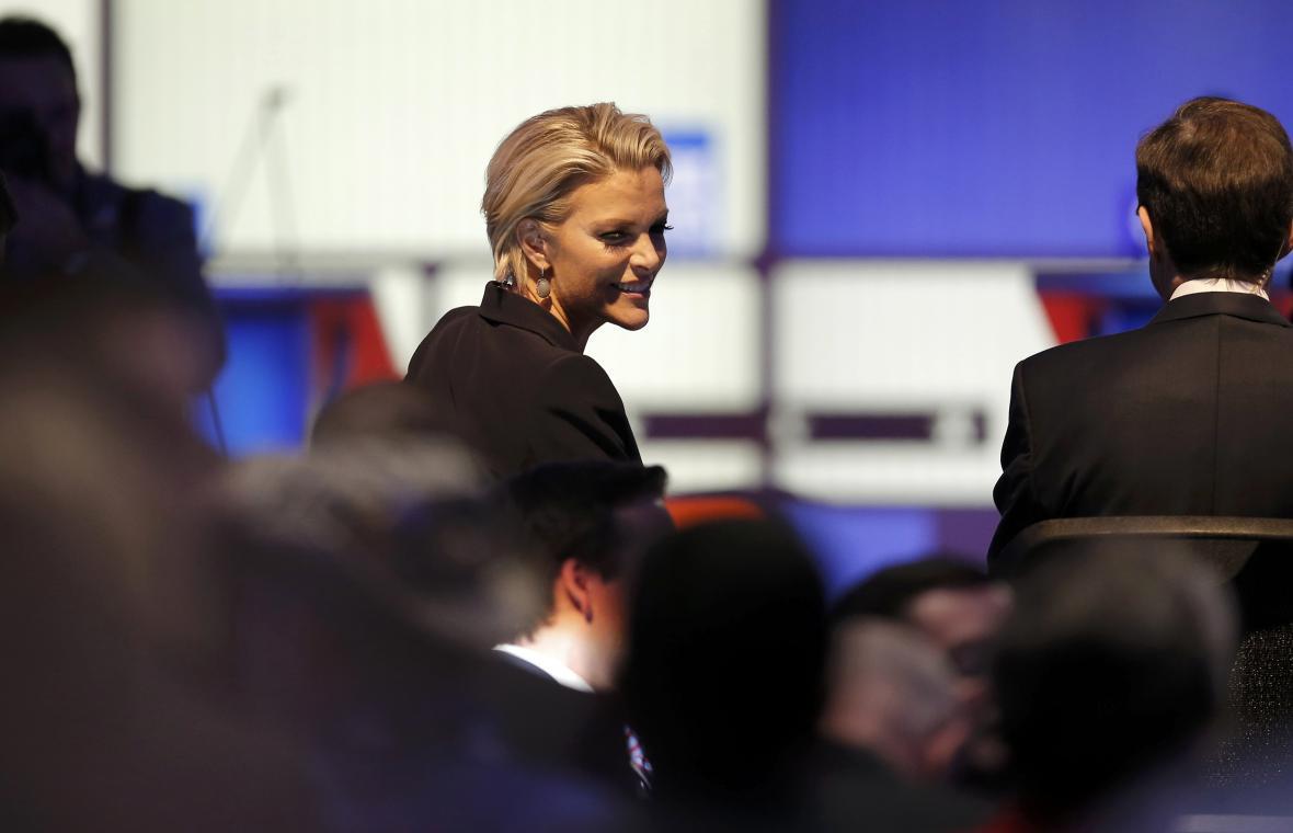 Megyn Kellyová moderovala poslední republikánskou debatu před primárkami