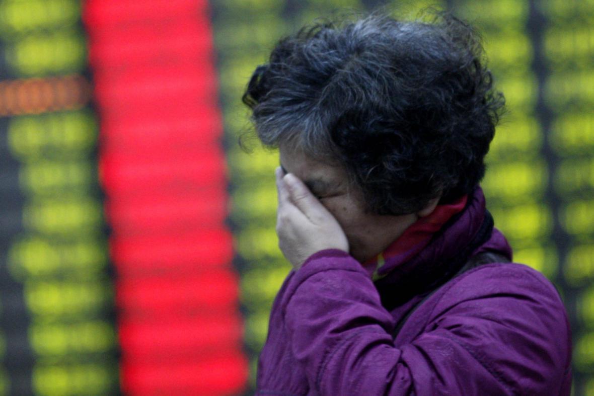 Čínský akciový trh