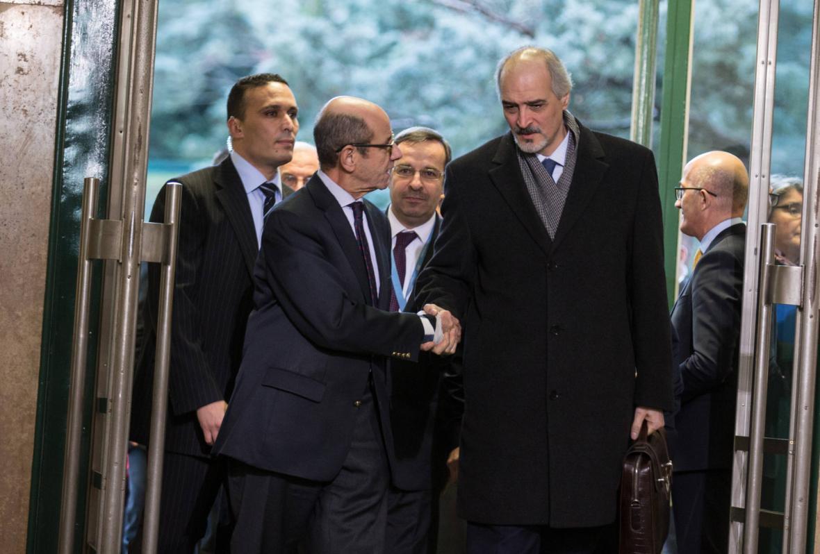 Syrská vládní delegace v Ženevě