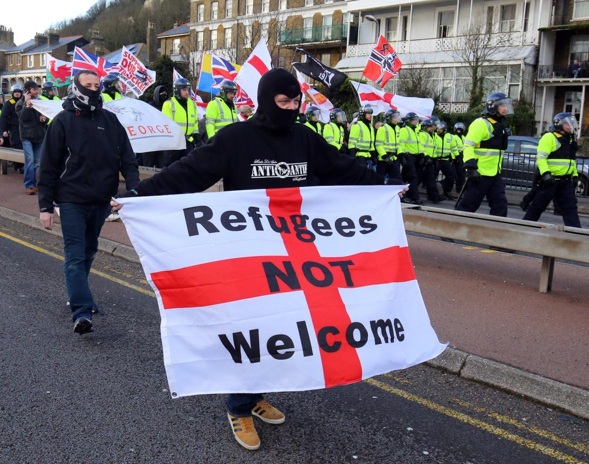 Střety v Doveru kvůli migrantům