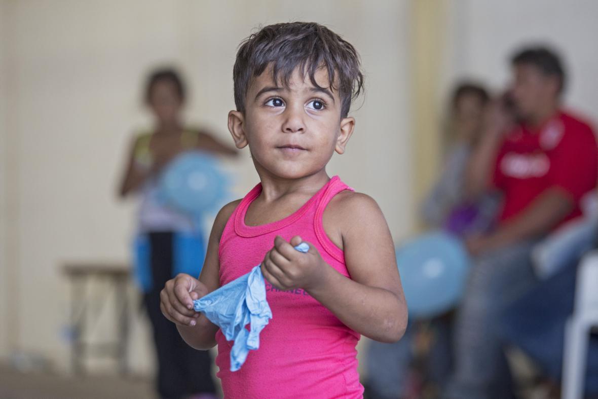 Dětský uprchlík