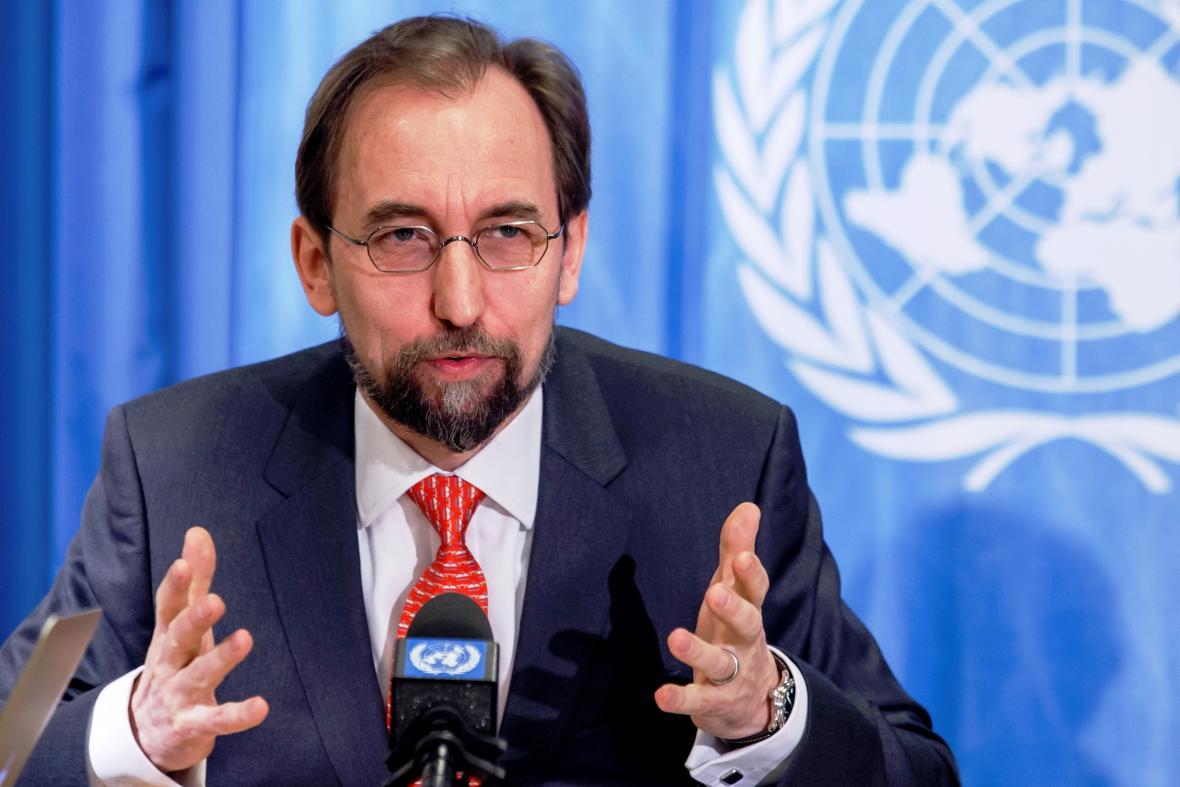 Vysoký komisař OSN pro lidská práva Zajd Raad Husajn