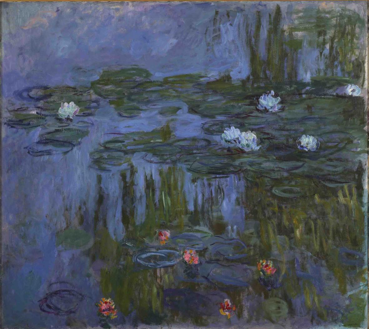 Claude Monet / Nymfy (Lekníny), 1914-15