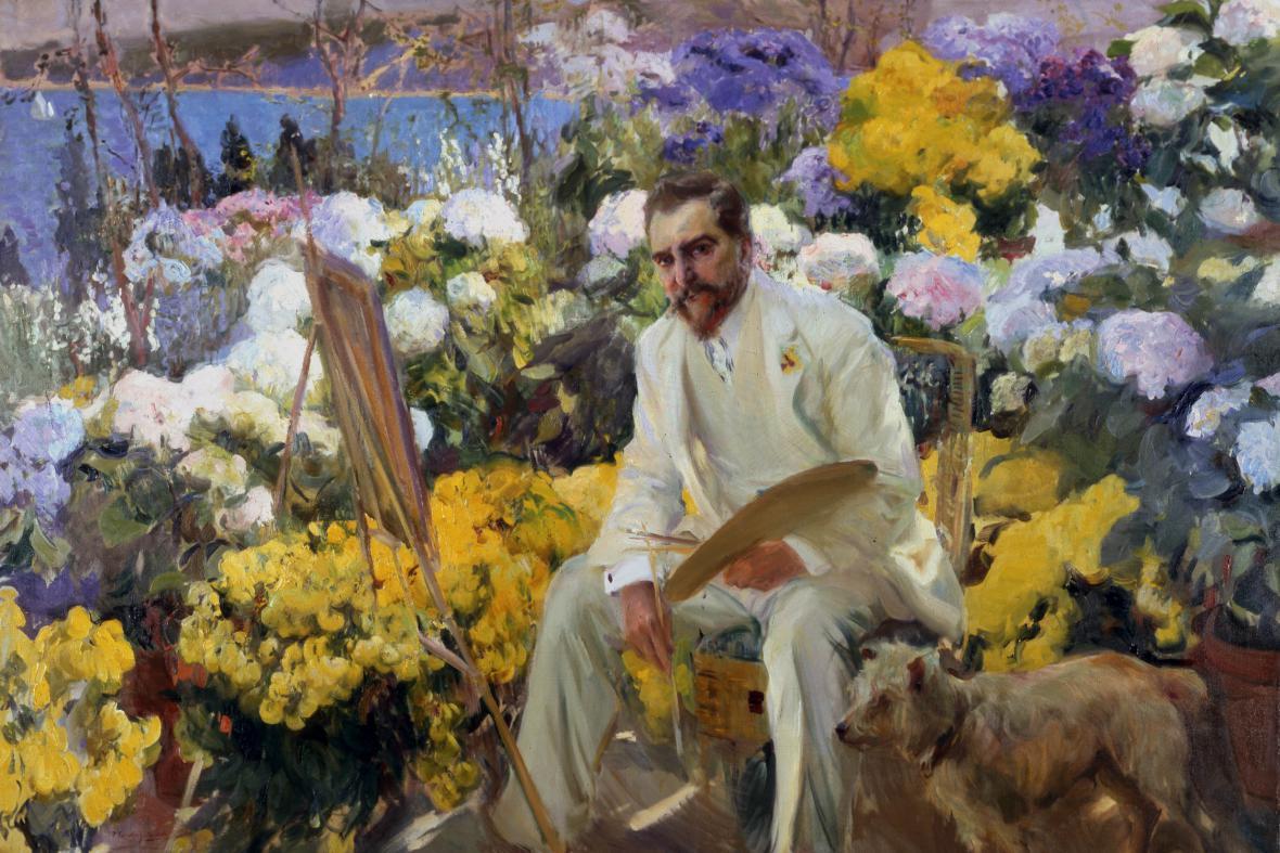 Joaquin Sorolla / Louis Comfort Tiffany, 1911