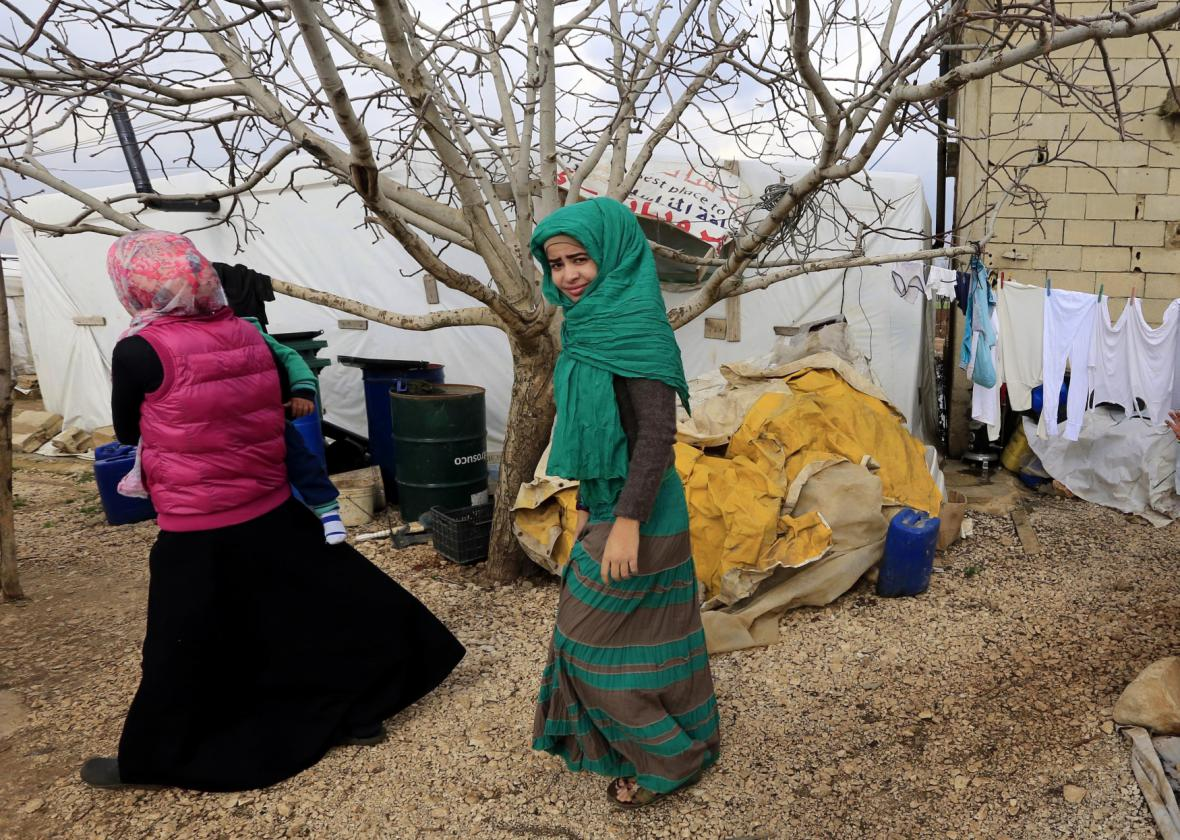 Uprchlice v Libanonu