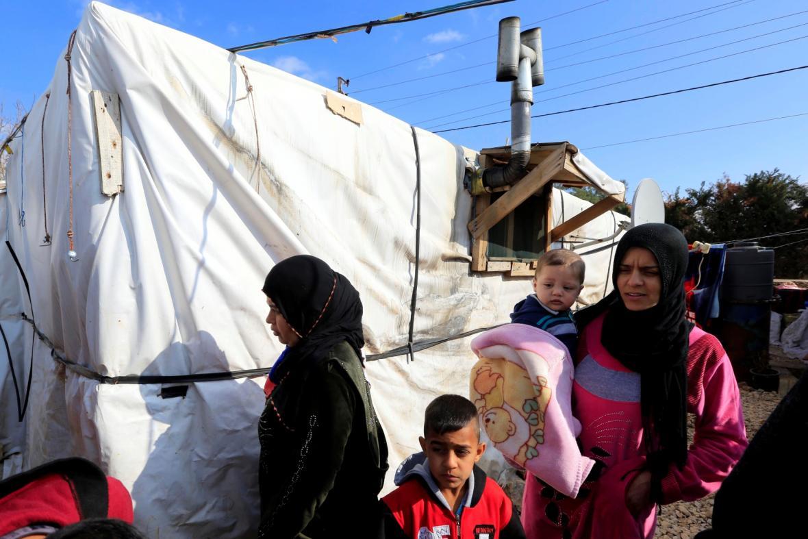 Uprchlíci v Libanonu