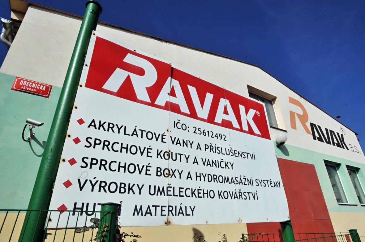 Příbramská společnost Ravak