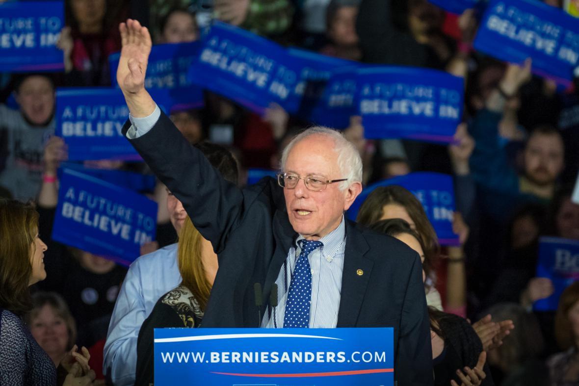 Vermontský senátor Bernie Sanders