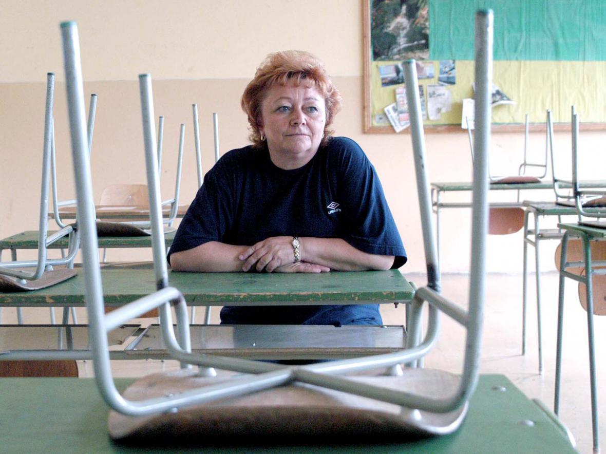Stávka slovenských učitelů v roce 2012