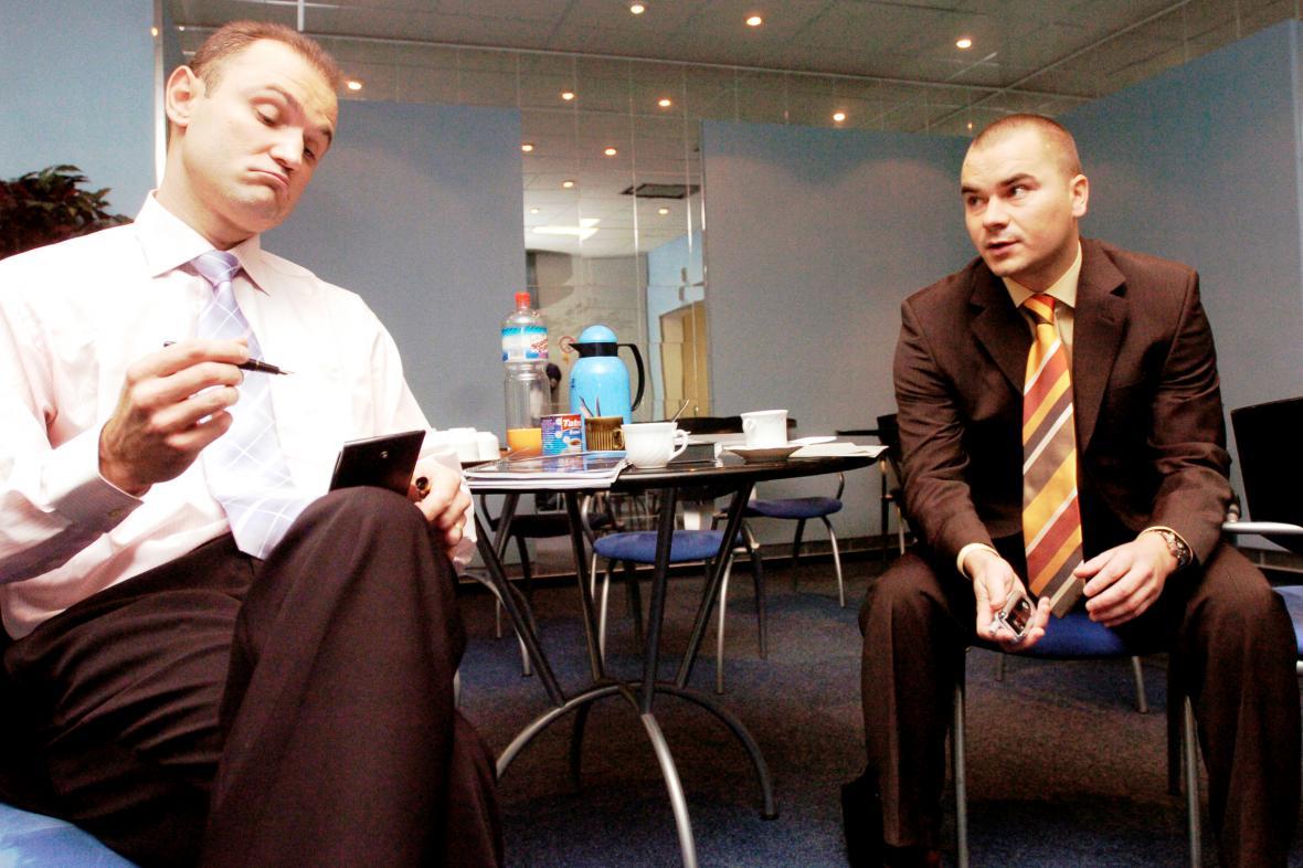 Marek Dalík a Ivan Langer