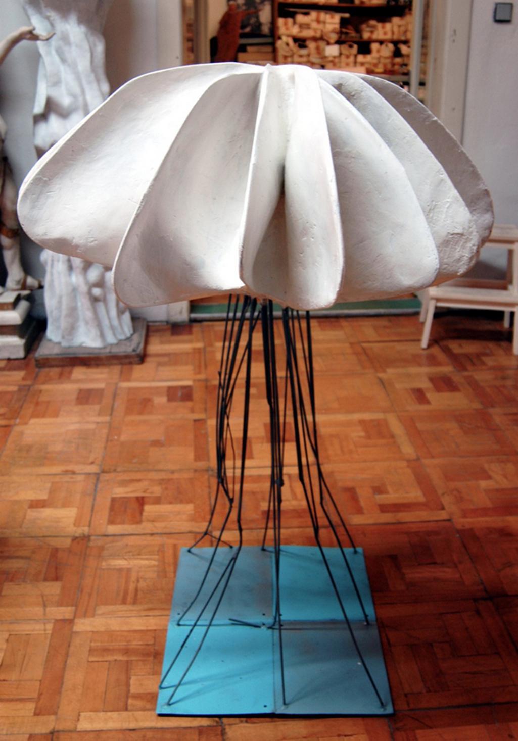 Z výstavy Valerian Karoušek / Abstrakce–konkrétno–citovost