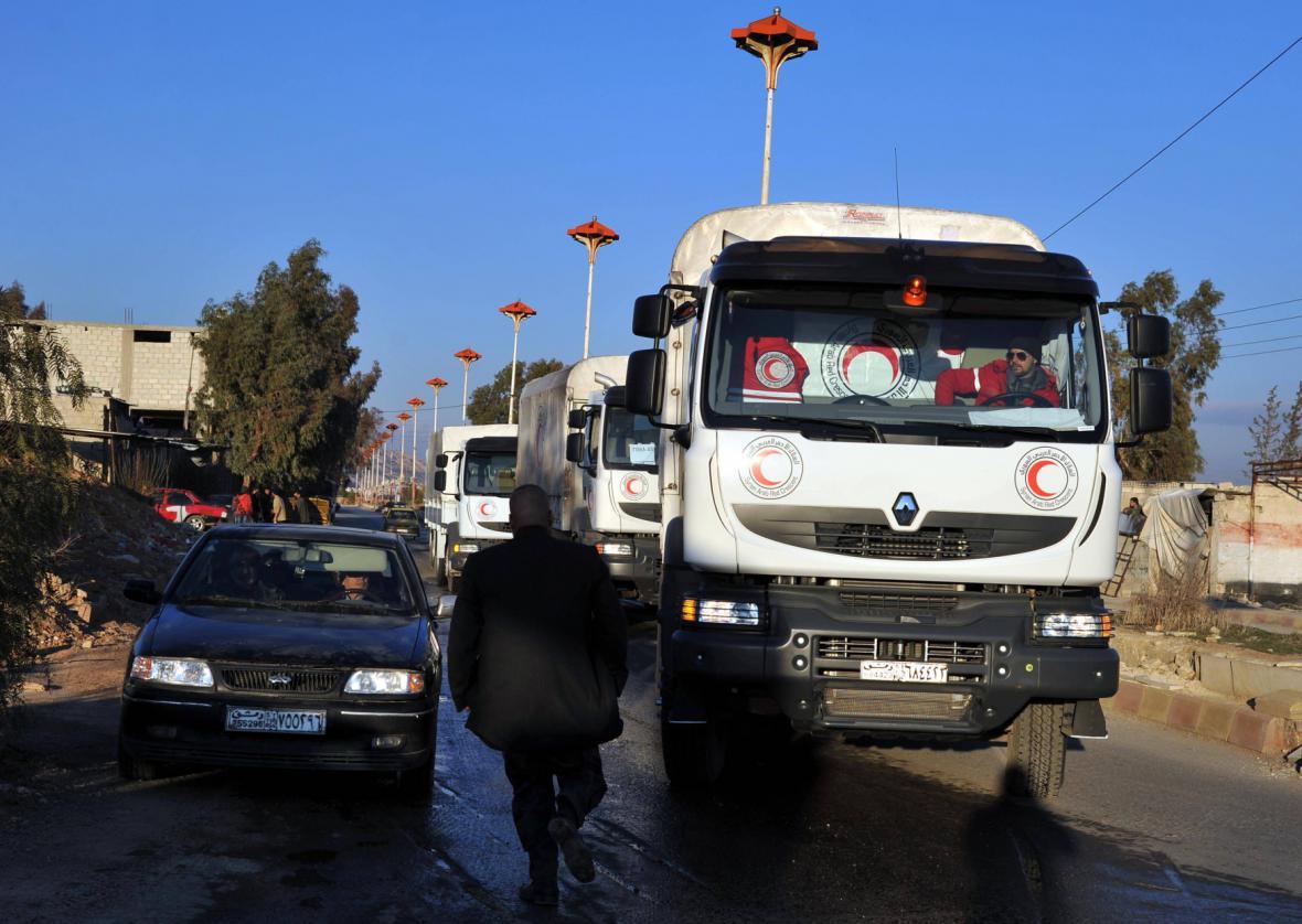 Humanitární konvoj