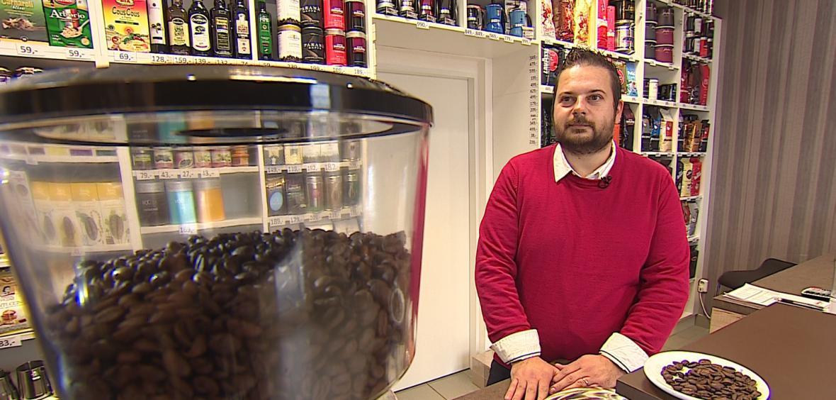 Na nádraží v Kyjově si lidé můžou koupit čerstvou kávu