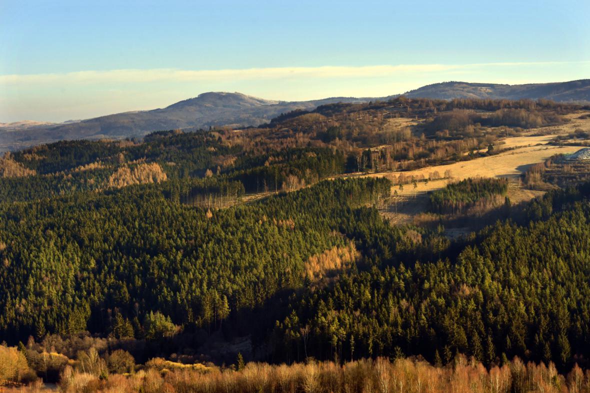 Vojenský újezd Hradiště - Doupovské hory