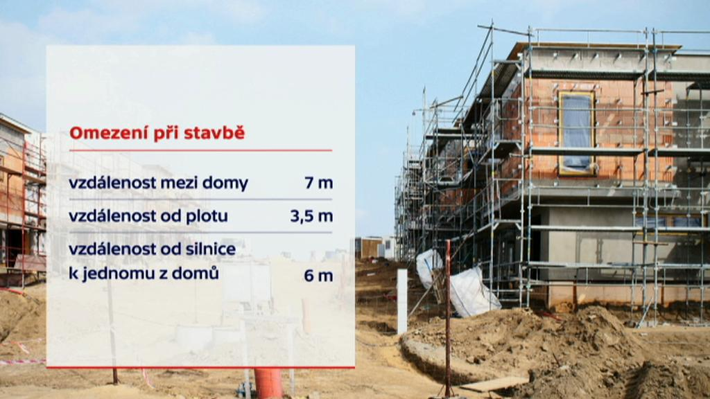 Omezení při stavbě