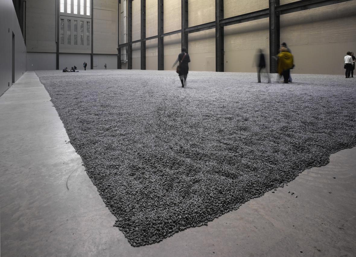 Aj Wej-Wej: Slunečnicová semínka v Tate Modern