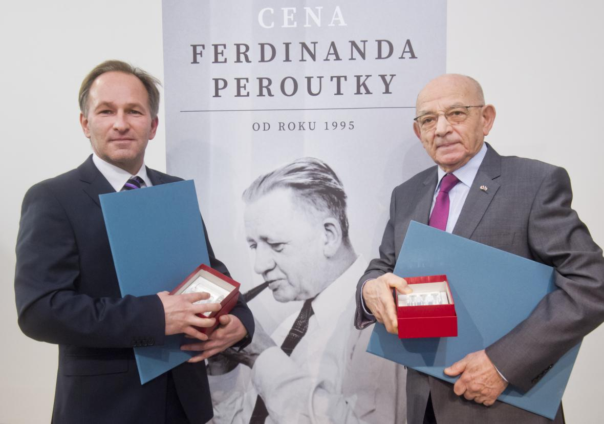 Marek Wollner a Luboš Dobrovský