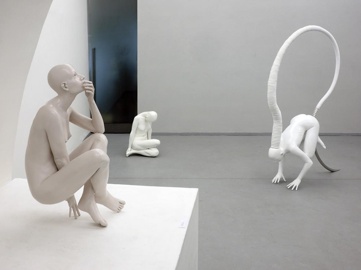 Z výstava Davida Moješčíka Nymphaeum