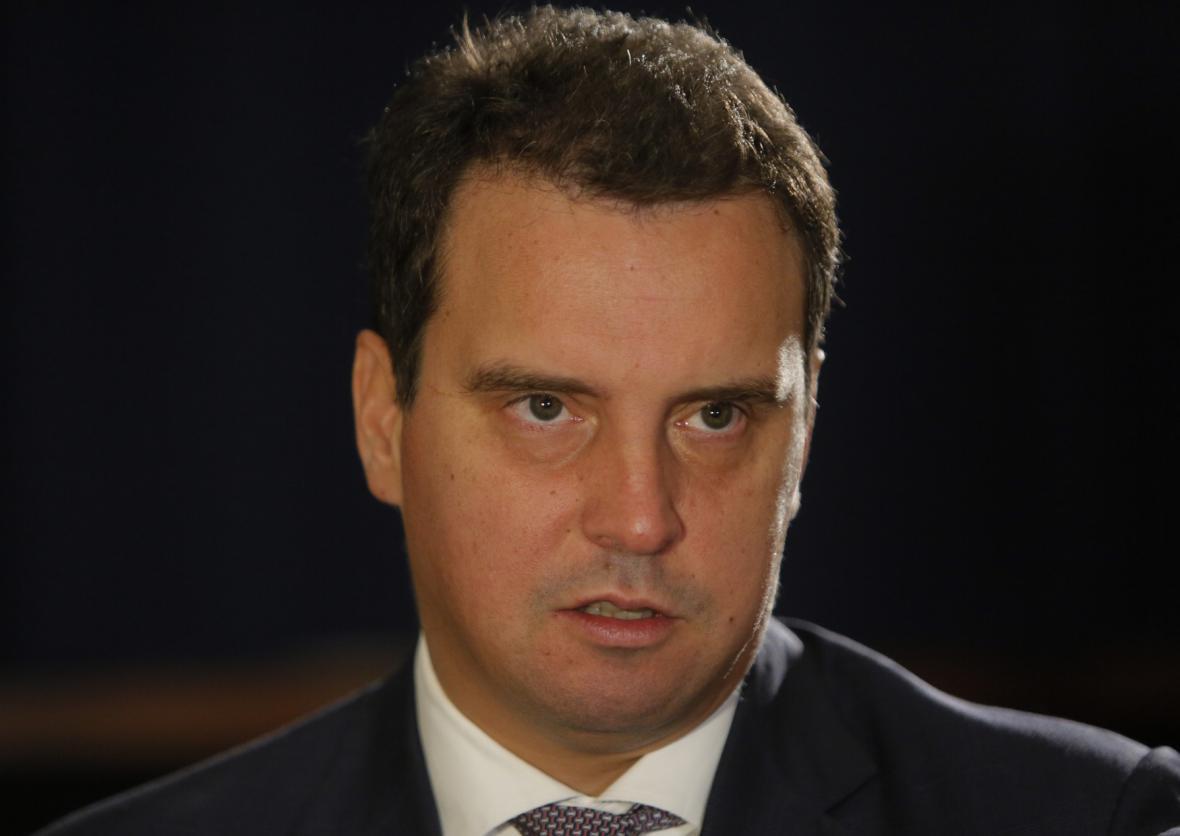 Ukrajinský exministr hospodářství Aivaras Abromavičius