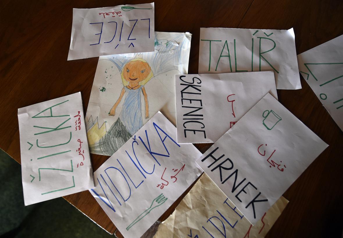 Uprchlíci z Iráku už se učí češtinu