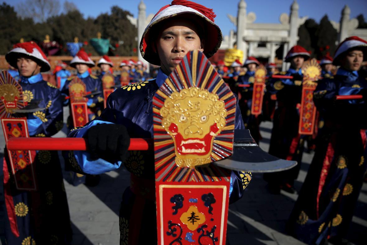 Novoroční oslavy v Pekingu