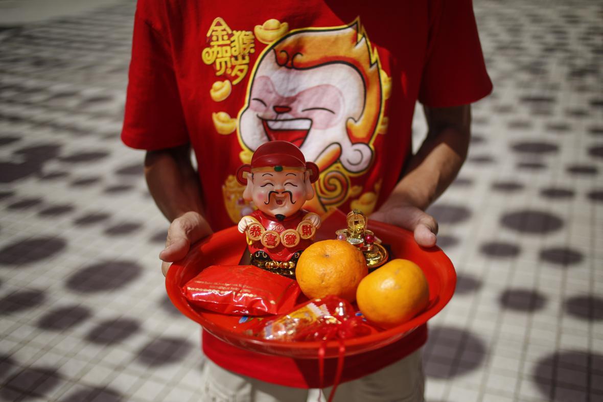 Oslavy Nového roku v Malajsii