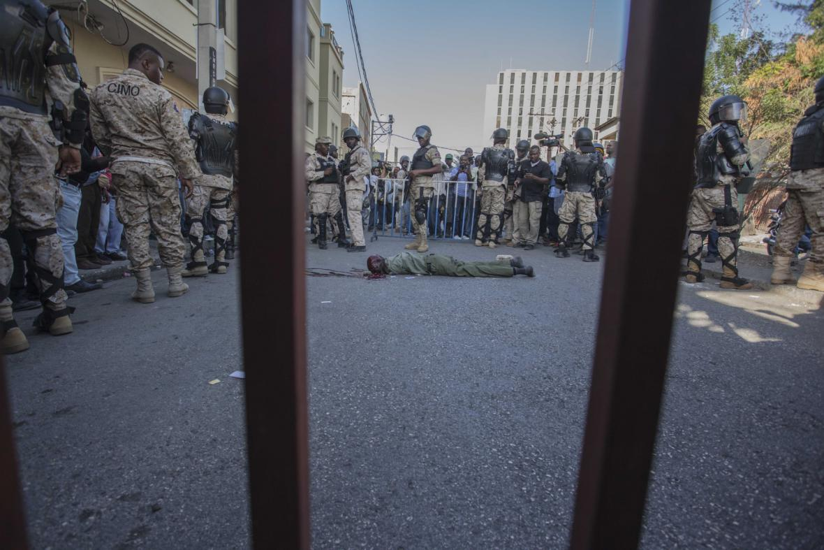 Nepokoje v Port-au-Prince