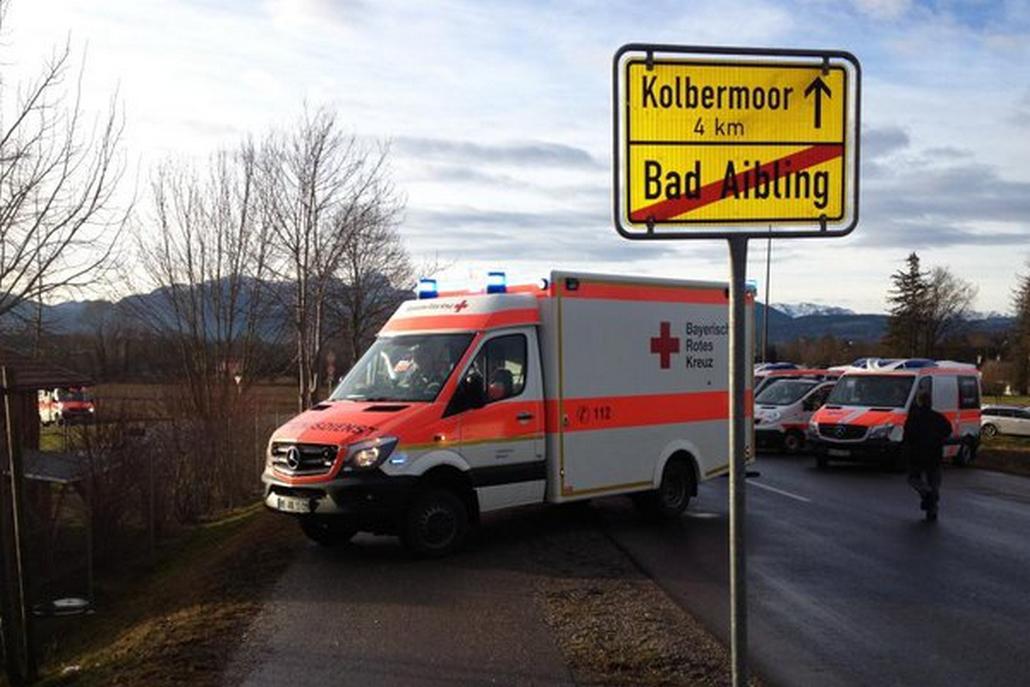 Záchranáři u místa nehody