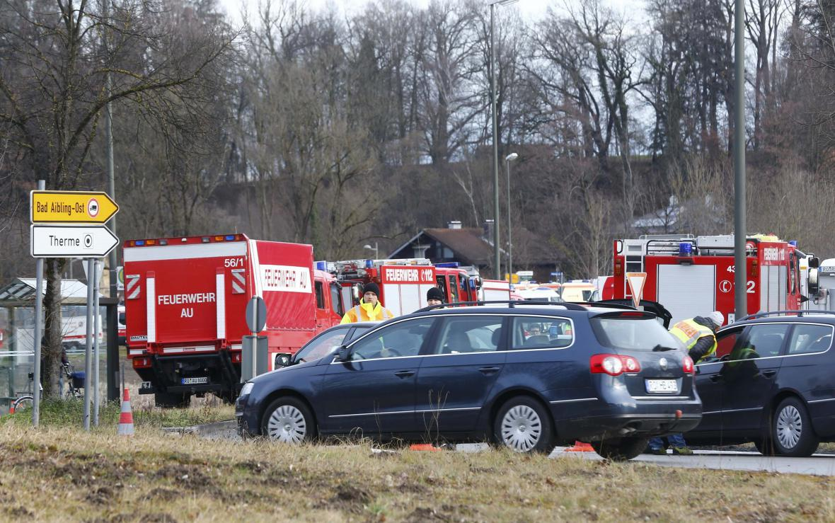 Železniční neštěstí v Bavorsku