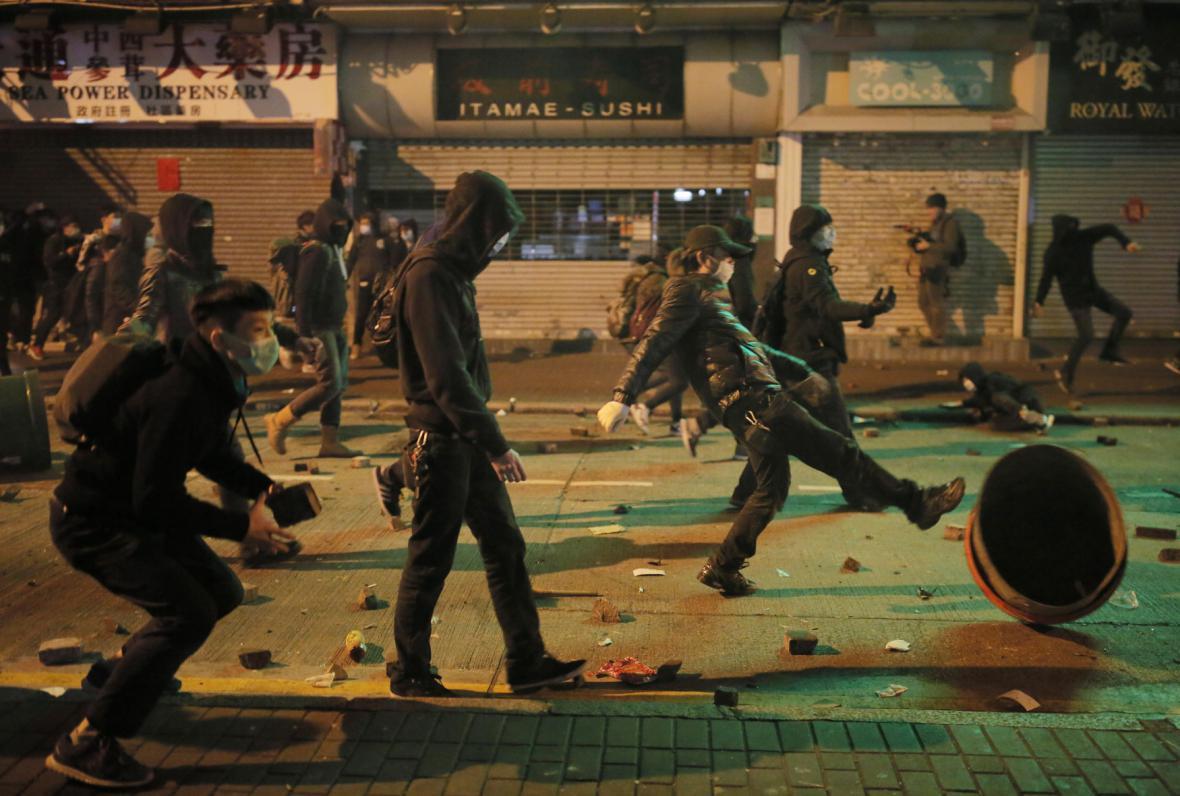 Nepokoje v Hong Kongu