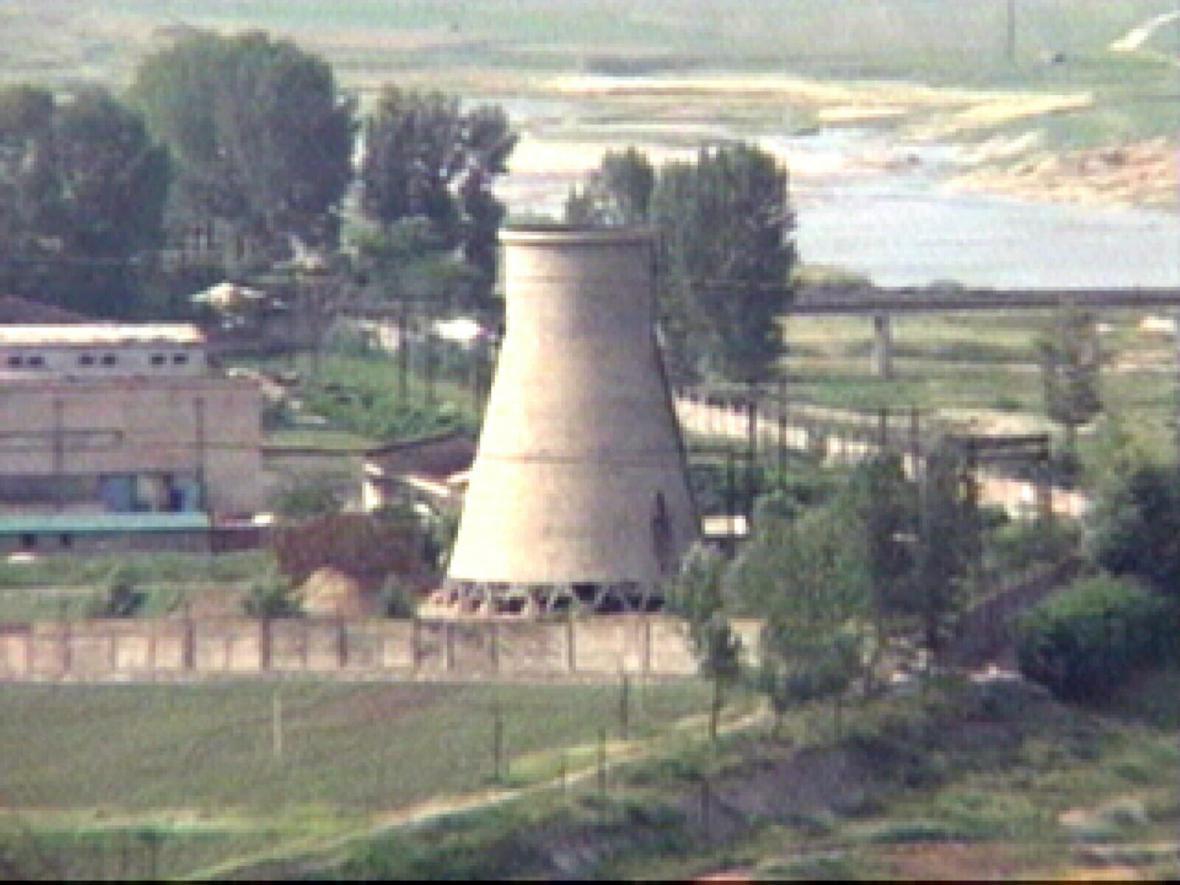Chladicí věž v KLDR