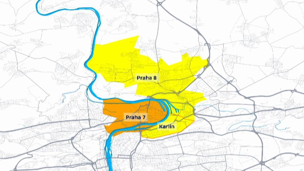 Praha 8 a Praha 7