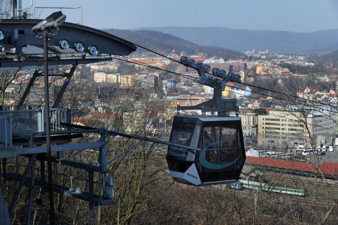 Lanovka v Ústí nad Labem