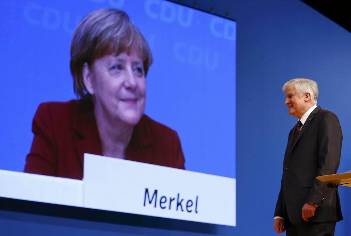 Angela Merkelová a Horst Seehofer