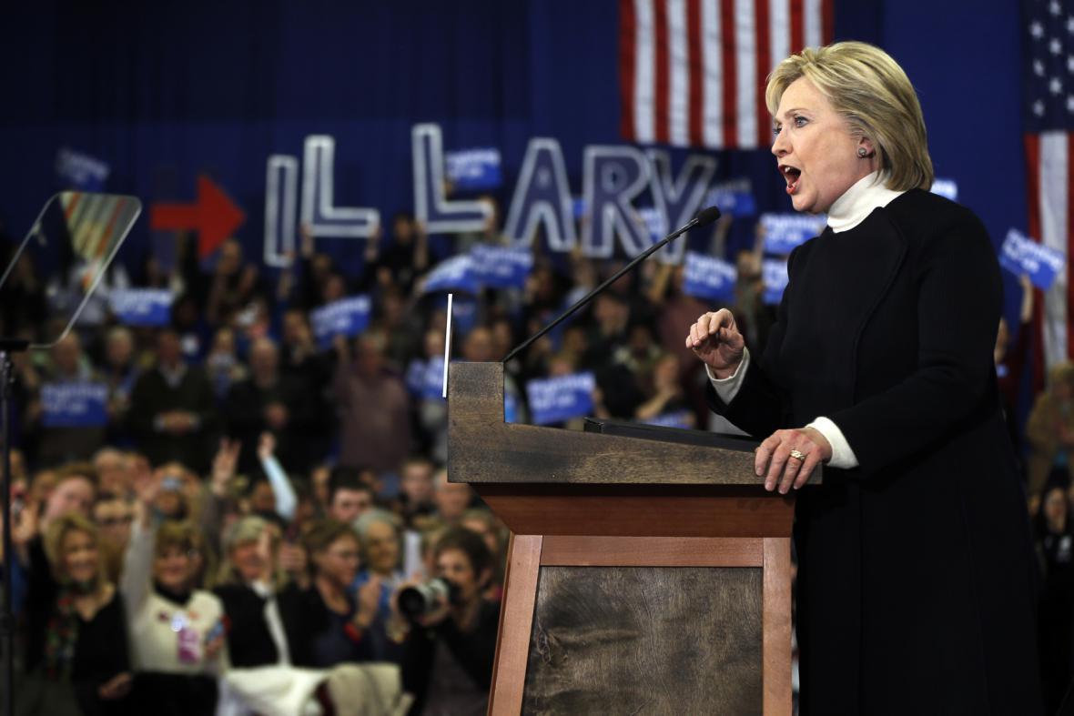 Exministryně zahraničí Hillary Clintonová