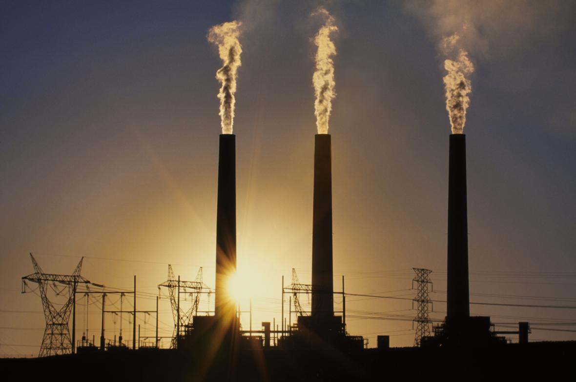 Uhelná elektrárna v Arizoně