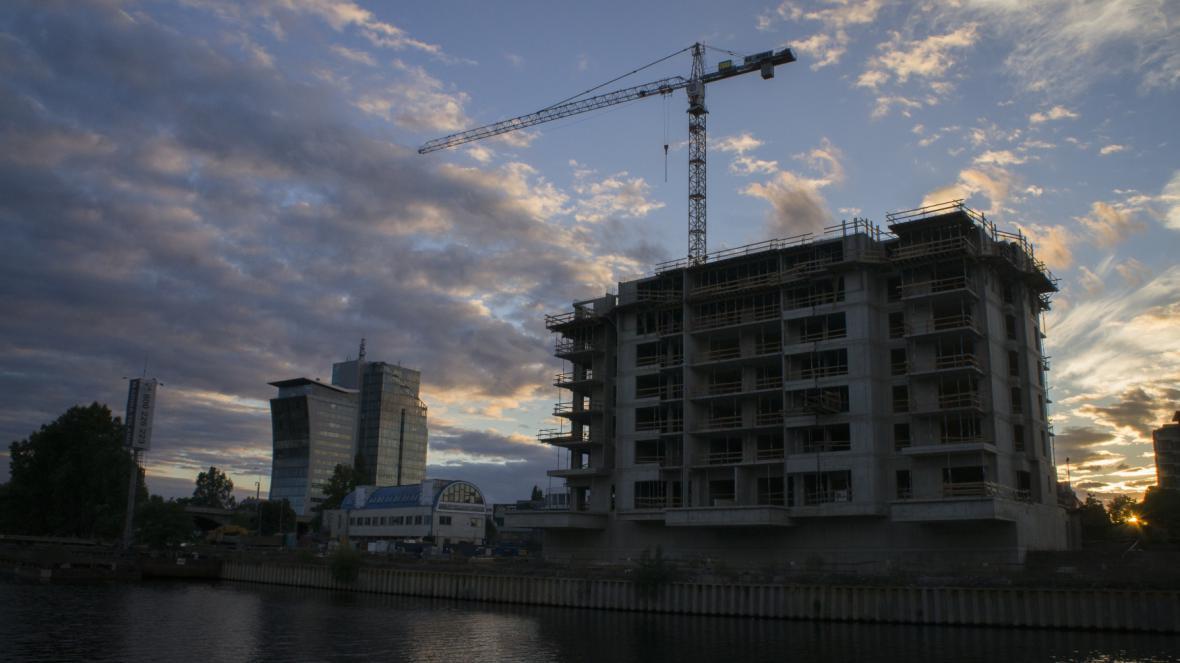 Bytový projekt Marina Island v Praze