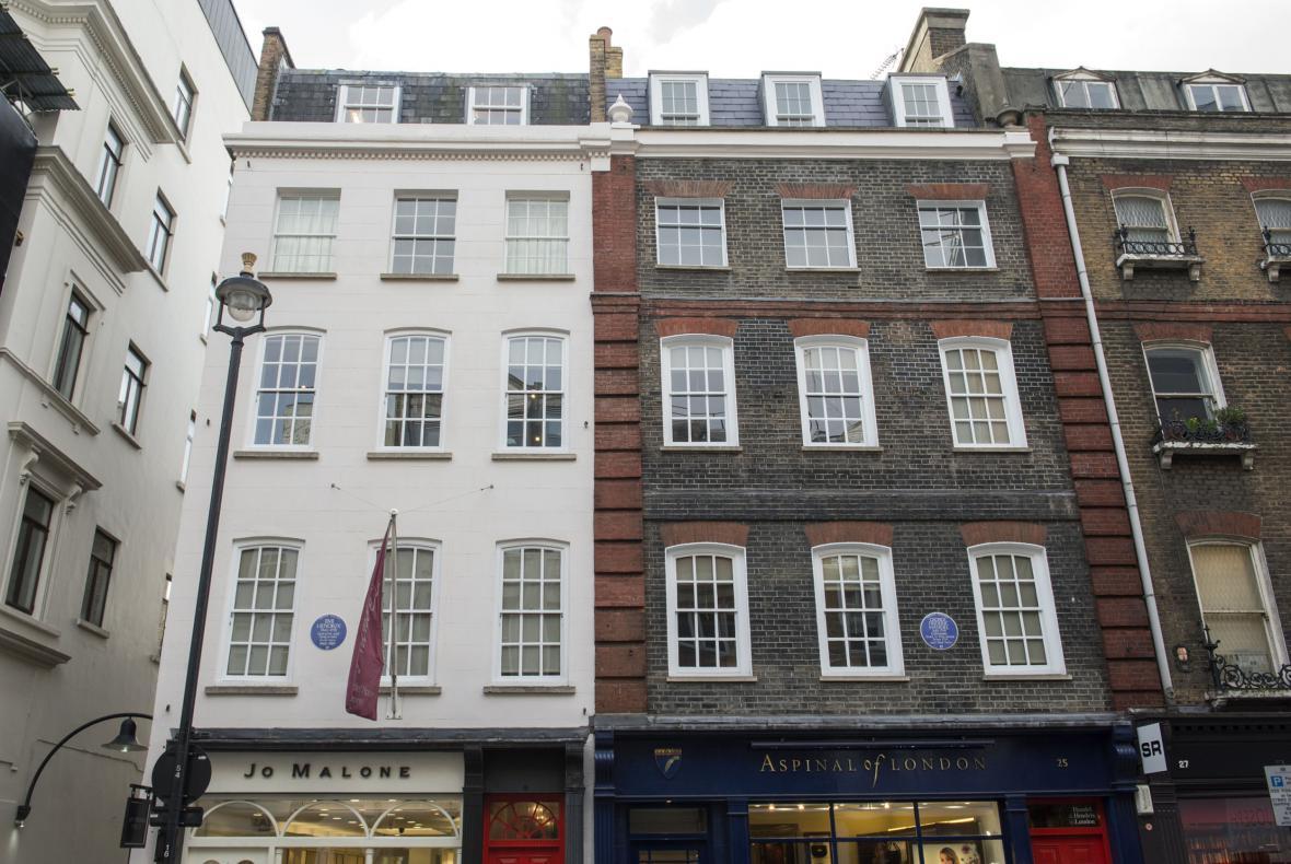 Byt Jimiho Hendrixe v Londýně
