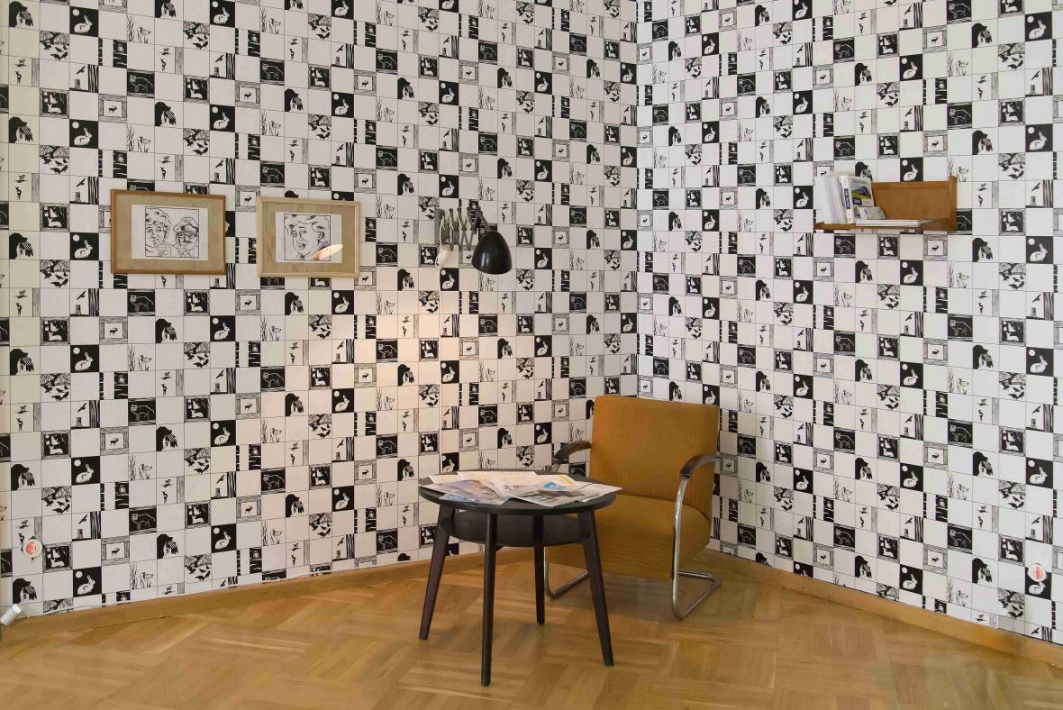 Z výstavy Jaromír 99: Nechte mě tady!