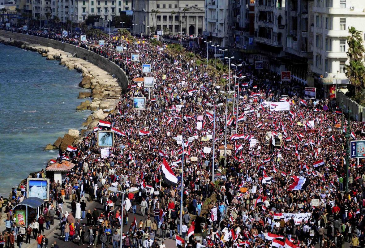 Protesty v únoru 2011 v Egyptě
