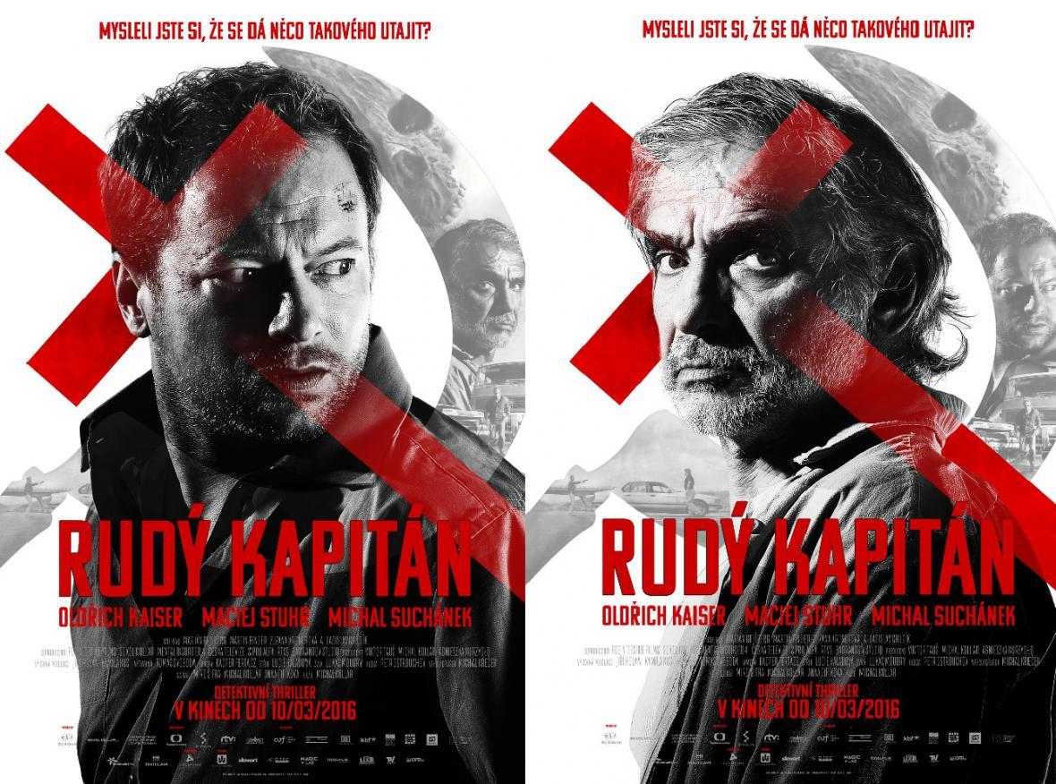 Plakaty k filmu Rudý kapitán