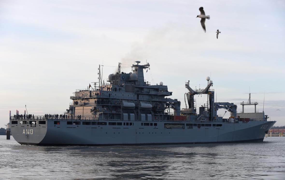 Německá loď Bonn