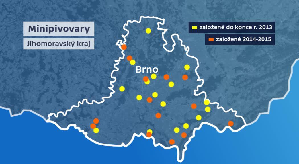 Nové minipivovary na jižní Moravě