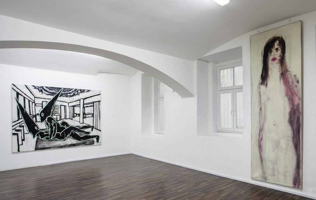 Z výstavy Akt 2016 (Nová galerie)
